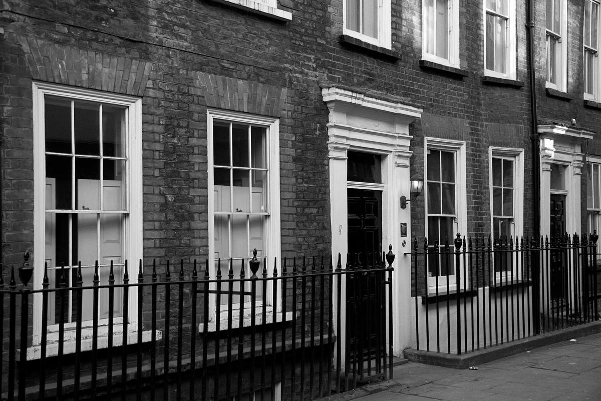Meard Street Soho London Houses built 1732
